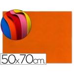 Goma eva Liderpapel 50x70 cm 60 gr/m2 espesor 1.5 mm color naranja