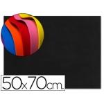 Goma eva Liderpapel 50x70 cm 60 gr/m2 espesor 1.5 mm color negro