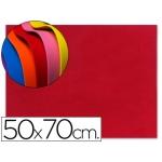 Goma eva Liderpapel 50x70 cm 60 gr/m2 espesor 1.5 mm color rojo