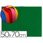 Goma eva Liderpapel 50x70 cm 60 gr/m2 espesor 1.5 mm color verde oscuro