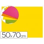 Goma eva Liderpapel 50x70 cm 60 gr/m2 espesor 2 mm fluor color amarillo
