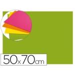 Goma eva Liderpapel 50x70 cm 60 gr/m2 espesor 2 mm fluor color verde