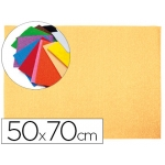 Goma eva Liderpapel 50x70 cm 60 gr/m2 espesor 2 mm textura toalla color carne