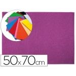 Liderpapel GE58 - Goma eva, espesor de 2 mm, 50 cm x 70 cm, con textura toalla, color lila