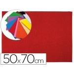 Goma eva Liderpapel 50x70 cm 60 gr/m2 espesor 2 mm textura toalla color rojo