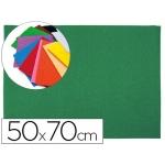 Goma eva Liderpapel 50x70 cm 60 gr/m2 espesor 2 mm textura toalla color verde