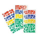 Gomets figuras surtidas 706 bolsa de 20 hojas