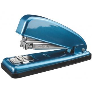 Petrus 226 - Grapadora de sobremesa, 30 hojas de capacidad, usa grapas 22/6 - 24/6 color azul perla