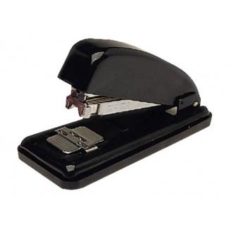 Petrus 226 - Grapadora de sobremesa, 30 hojas de capacidad, usa grapas 22/6 - 24/6, color negro