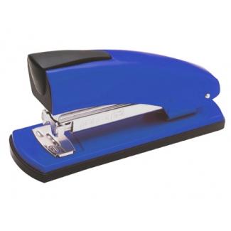 Petrus 2001 - Grapadora de sobremesa, 30 hojas de capacidad, usa grapas 22/6 - 24/6 - 26/6, color azul