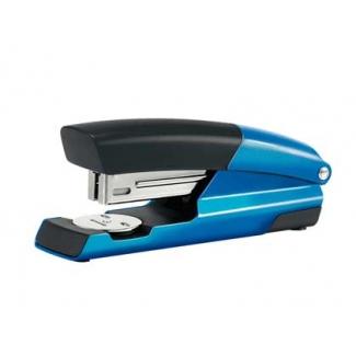Petrus 635 Wow - Grapadora de sobremesa, 30 hojas de capacidad, usa grapas 22/6 - 24/6 - 26/6, color azul metalizado