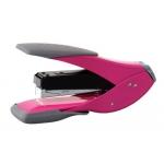 Grapadora Rexel easy touch grapado plano color rosa
