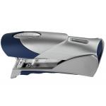 Grapadora Rexel gazelle + pie +extraegrapa+grapas 22/6 color plata/azul