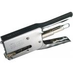 Skrebba Super 172 - Grapadora de tenaza, 40 hojas de capacidad, usa grapas 24/6 - 24/8 - 26/6 - 26/8s, color cromado