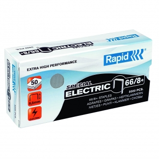 Rapid 24868000 - Grapas Nº 66/8+, galvanizadas super strong, caja de 5.000
