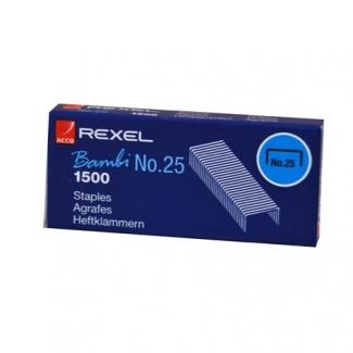 Pregunta sobre Rexel 05020 - Grapas Nº 25 - 21/4, caja de 1.500
