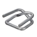 Hebilla de acero galvanizado Veltkamp para fleje de 13 mm caja de 1000 unidades