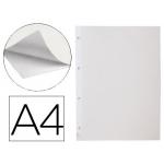 Liderpapel HJ01 - Hoja para álbum, autoadhesiva, blanca