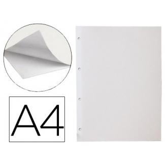 Hoja album Liderpapel autoadhesiva color blanca