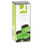 Imanes para sujeción Q-connect ideal para pizarras magneticas 35 mm color verde caja de 10 imanes