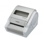 Impresora de etiquetas/ticket Brother conx usb/serie corte automático / 110 mm /seg