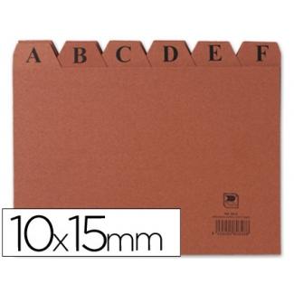 Liderpapel IC03 - Índice para fichero, tamaño 100 x 150 mm Nº 3