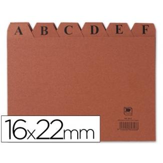 Opina sobre Liderpapel IC05 - Índice para fichero, tamaño 160 x 220 mm Nº 5