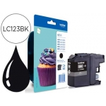 Ink-Jet Brother referencia LC-123 BK negro