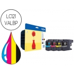 Ink-jet Brother referencia LC121VALBP pack 4 es 300 páginas