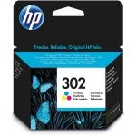 HP 302 - Cartucho de tinta original F6U65AE, tricolor