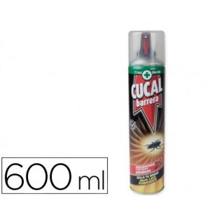 Insecticida Cucal spray barrera cucarachas y hormigas 600 ml