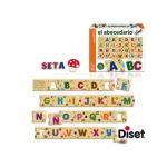 Juego Diset didáctico abecedario