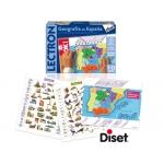 Juego Diset didáctico lectron geografía de españa
