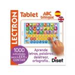 Juego Diset didáctico lectron mini tablet abc biling e