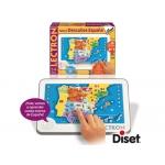 Juego Diset didáctico lectron tablet descubre españa