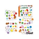 Juego Diset didáctico los colores