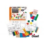 Juego Diset didáctico manualidades especialmente pensada para niños de 3 años