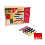 Juego Diset didáctico regletas 10 x 10 caja individual