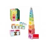 Juego Diset didácticos cubos apilables 10