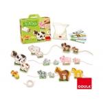 Goula 55021 - Juego didácticos, enlazar mamas y bebes