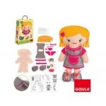 Goula 52021 - Juego didáctico, muñeca bibi