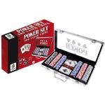 Juego de mesa maletin aluminio poker 300 fichas