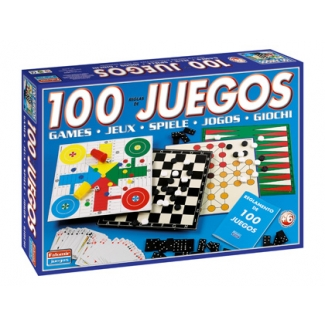 Falomir 1308 - Juego de mesa, 100 juegos reunidos