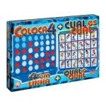 Juegos de mesa Falomir cuatro en linea + cual es cual