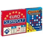 Juegos de mesa Falomir euro superpoly + coloca 4