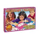 Juegos de mesa Falomir mis tatuajes y pegatinas