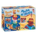 Juegos de mesa Falomir torre de la risa + pinchapirata