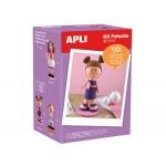 Kit de manualidades Apli fofucha niña