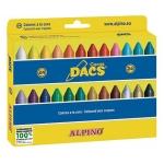 Dacs DA050295 - Ceras blandas, caja de 24 colores