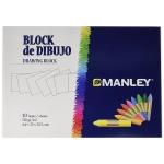 Lápices cera Manley caja de 30 colores + bloc dibujo obsequio